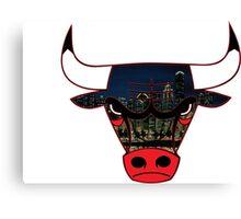Bulls 7 Canvas Print