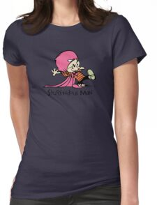 Calvin and Hobbes Stupendous Man Womens Fitted T-Shirt