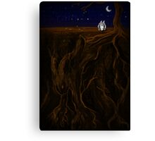 The Earth and The Rabbit Canvas Print