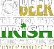 IRISH BEER by HotTShirts