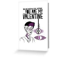 Cecil Valentine Greeting Card
