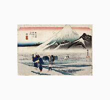 Hara - Hiroshige Ando - 1833 - woodcut Unisex T-Shirt