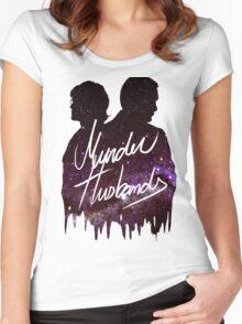 Murder Husbands [Galaxy] Women's Fitted Scoop T-Shirt