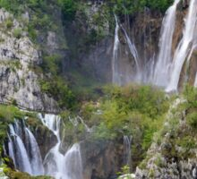 National park waterfalls Sticker
