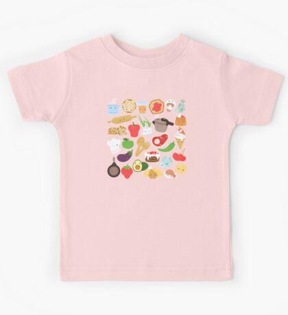 Cute food Kids Tee