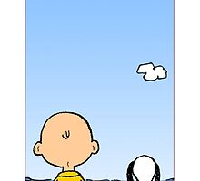 Snoopy and Charlie Brown by albabulul946