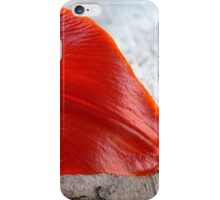 Orange Lily Petal iPhone Case/Skin