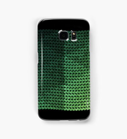 wavy knitted shapes geometry Samsung Galaxy Case/Skin