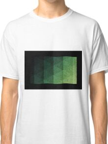 wavy knitted shapes geometry Classic T-Shirt