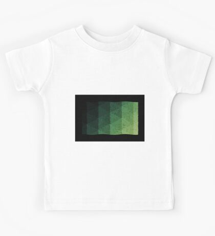 wavy knitted shapes geometry Kids Tee