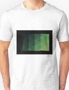 wavy knitted shapes geometry T-Shirt