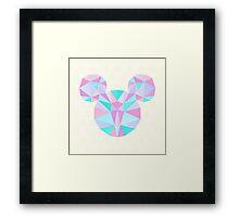 Crystal Mouse Framed Print