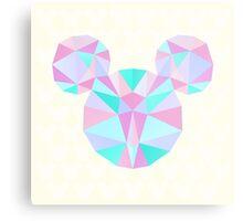 Crystal Mouse Metal Print