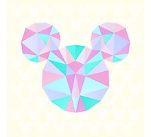 Crystal Mouse Photographic Print