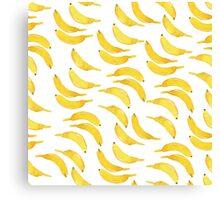Simple bananas Canvas Print