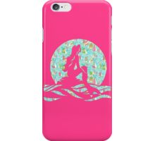 Lilly Pulitzer Inspired Mermaid - You Gotta Regatta iPhone Case/Skin