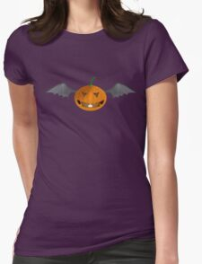 xtreme flying pumpkin Womens Fitted T-Shirt