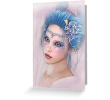 Lady in Spring Greeting Card