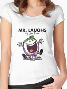 Mr Laughs Women's Fitted Scoop T-Shirt