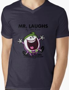 Mr Laughs Mens V-Neck T-Shirt