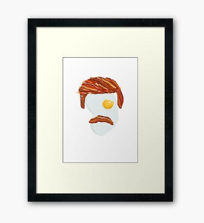 Ron effin Swanson Framed Print