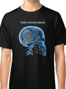 vespa engine brain skull Classic T-Shirt