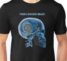 vespa engine brain skull Unisex T-Shirt