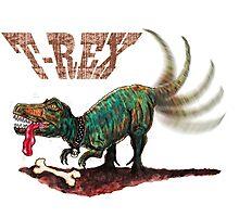 Trex t-rex Photographic Print