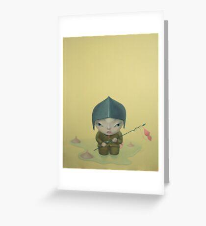 sacker Greeting Card