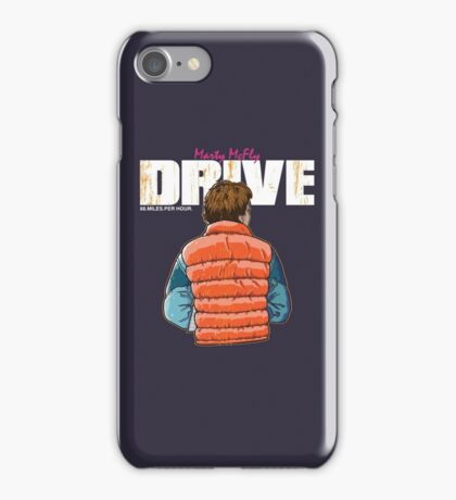 Back to the Future - Drive iPhone Case/Skin