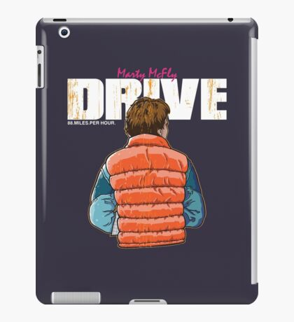 Back to the Future - Drive iPad Case/Skin