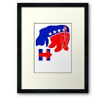 Eeyore for Hillary Framed Print