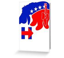 Eeyore for Hillary Greeting Card