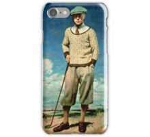 Sir William Orpen, Edward, Prince of Wales iPhone Case/Skin