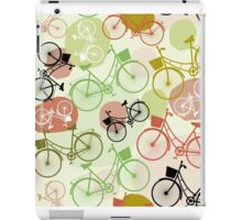Ride a bike iPad Case/Skin