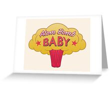 Atom Bomb Baby Greeting Card