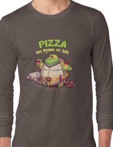 Teenage Mutant Ninja Turtles - Fat Michelangelo Long Sleeve T-Shirt