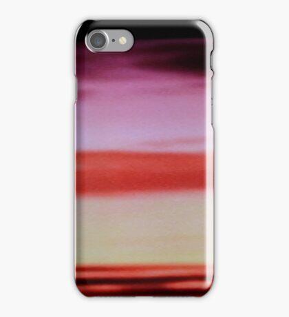 Sunset cloud bands iPhone Case/Skin