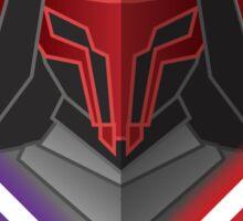 dark warrior Sticker