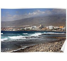 amazing beach in Tenerife Poster