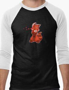 My Better Half - Red Panda (right) Men's Baseball ¾ T-Shirt