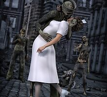 Zombies Kiss  by Gypsykiss
