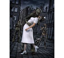 Zombies Kiss  Photographic Print