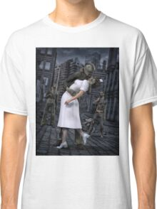 Zombies Kiss  Classic T-Shirt