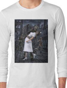 Zombies Kiss  Long Sleeve T-Shirt