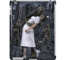 Zombies Kiss  iPad Case/Skin