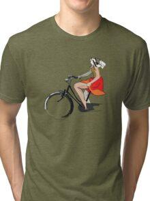 Sentiments d'été - la jupe Tri-blend T-Shirt