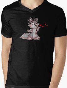 My Better Half - Wolf (left) Mens V-Neck T-Shirt