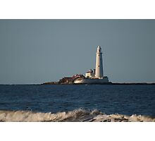 St. Mary's Lighthouse Photographic Print