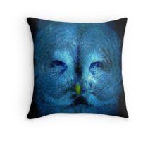 Galaxy Owl Print Throw Pillow